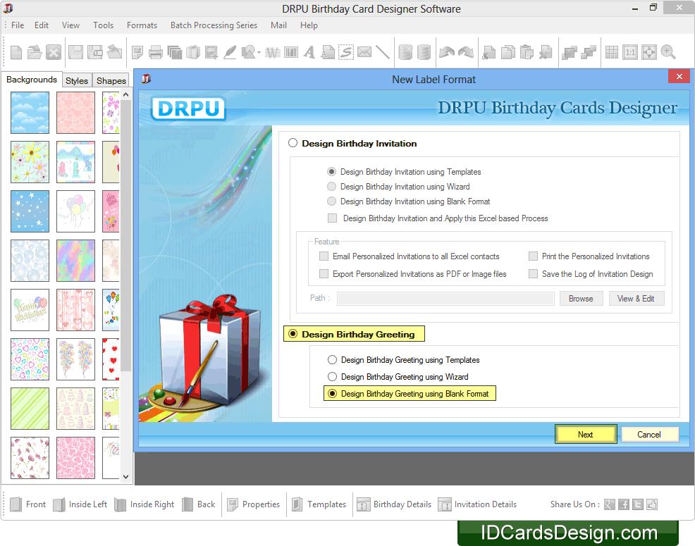 Birthday card creation software driveeapusedmotorhomefo birthday cards designing software filmwisefo