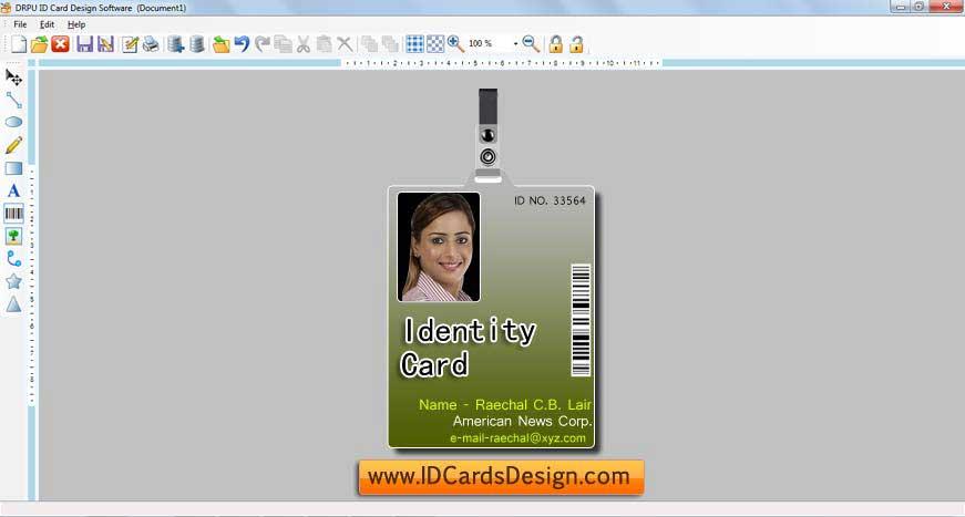 Windows 7 ID Cards Design 7.3.0.1 full